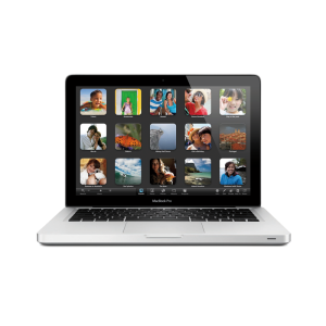 MacBook Pro 13-inch, 2.5GHZ DUAL-CORE INTEL CORE I5, 4GB 1600MHZ DDR3 SDRAM - 2X2GB, 500GB SERIAL ATA DRIVE @ 5400 RPM, Âge du produit : 48 mois